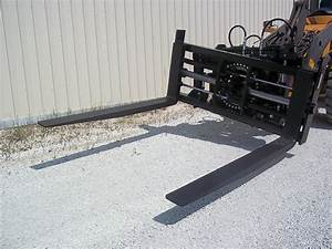Ultimate Adjustable Forks In Auto Salvage Forklift