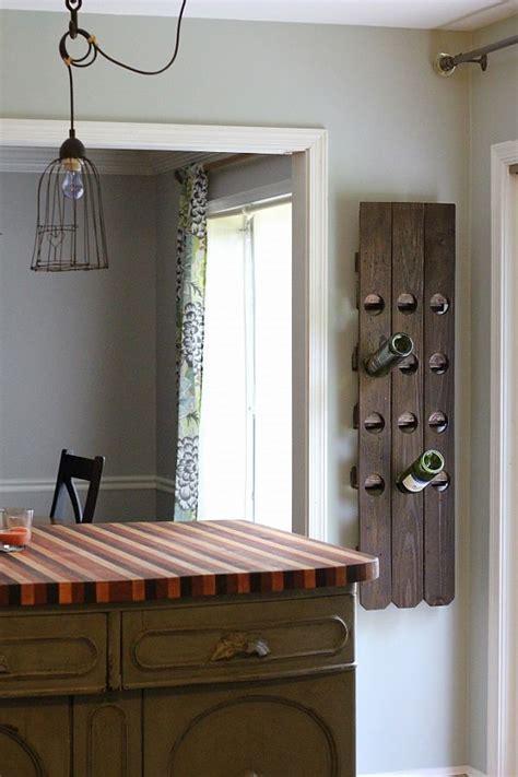 versatile wall mounted wine rack designs   craft