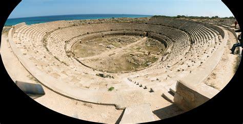 Sergej Marsnjak - Libya (West) - Leptis Magna - Amphitheatre