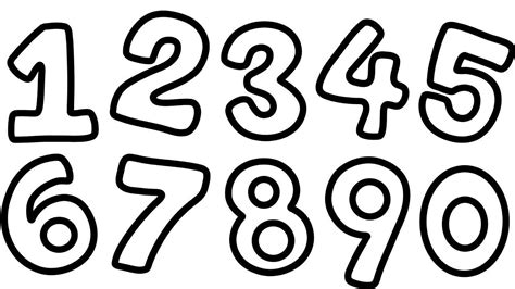ow  draw numbers     kid learn counting numbers