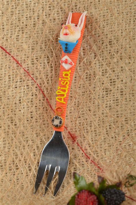 id馥 cadeau cuisine madeheart gt fourchette fait couvert de table cadeau enfant ustensile cuisine