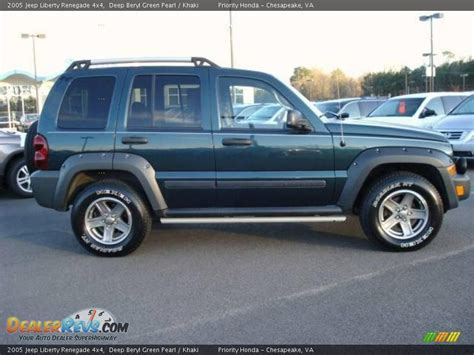 green jeep liberty renegade 2005 jeep liberty renegade 4x4 deep beryl green pearl