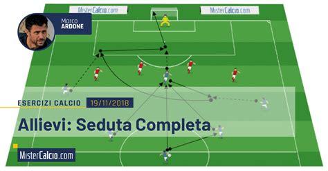 Seduta Di Allenamento Calcio Seduta Di Allenamento Calcio Allievi Proposta Completa