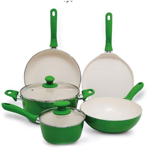 buy chefline ceramic cookware set pc   uae dubai