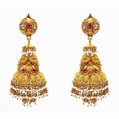 Jhumka Gold Earring Designs Jhumkas Grt Antique