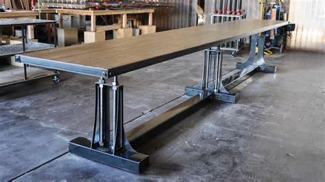 Post Industrial Bar Table ? Model #PO5 ? Vintage