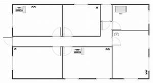 Floor Plan Template Blank Plans Templates - House Plans
