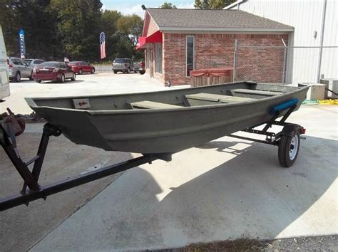 Used Flat Bottom Boats For Sale In Arkansas by 2000 14 Flat Bottom Boat Trailer Flat Bottom