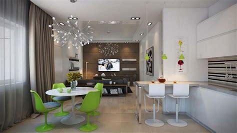 cuisine le bon coin salle à manger design dans un petit appartement de ville