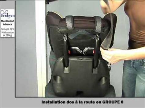 siege auto comment l installer installation du maxiconfort siège auto groupe 0 1 boulgom