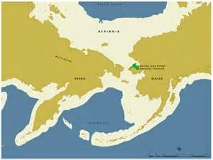 Ice Age Bering Strait Land Bridge