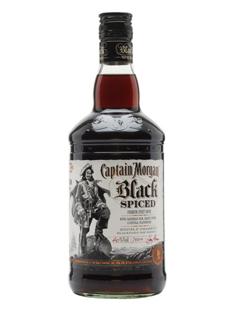 Captain Morgan Black Spiced  The Whisky Exchange