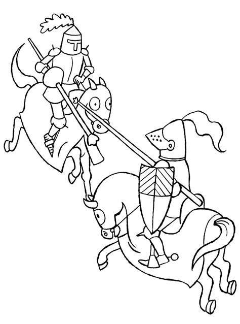 Jonkvrouw Kleurplaat by Kleurplaten Ridders Animaatjes Nl