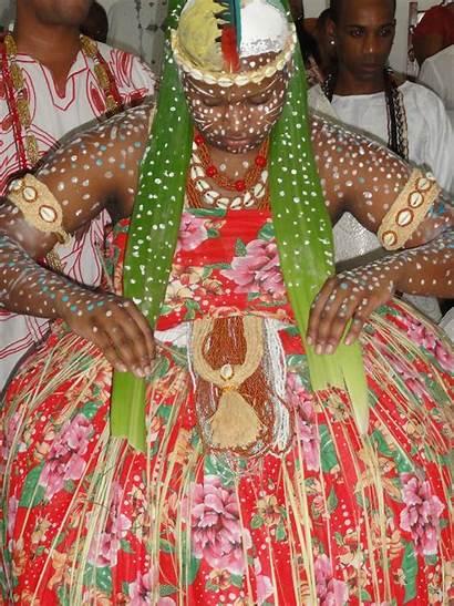 African Traditional Religion Worship Candomble Brazilian Woman