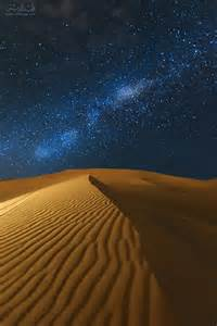 Arabia Saudi Desert at Night