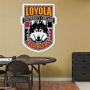 Loyola Chicago Ramblers Alternate Logo Wall Decal   Shop ...