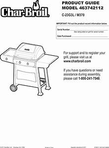 Char Broil 463742112 Users Manual G312 001 060801