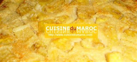 cuisine de choumicha recette de batbout clafoutis à l 39 ananas