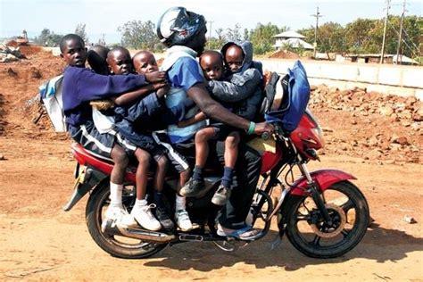 10 Crazy Things Kenyan Do On Motorbikes