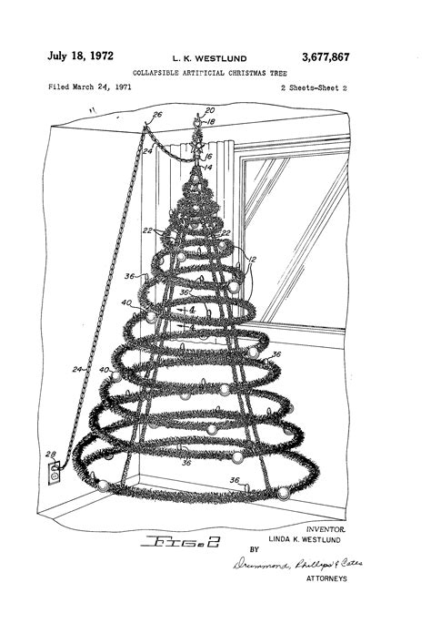 xmas tree structure patent us3677867 collapsible artificial tree patents