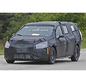Scoop 2017 Chrysler Town & Country Makes Its First