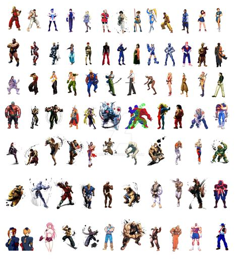 Street Fighter All Characters Street Fighter Characters