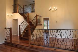 home interior railings what do you think of our wrought iron railing artisan bent design used for a home interior