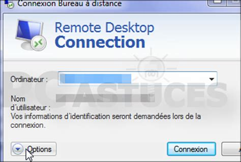 bureau a distance windows pc astuces supprimer les informations enregistres par la