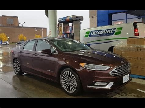 ford fusion hybrid fuel economy mpg review fill