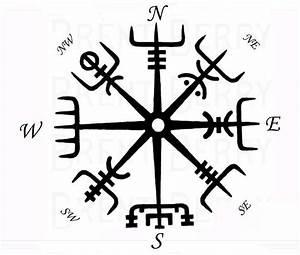 Compas De Vegvisir : viking 39 s compass vegvisir tattoos tatou ~ Melissatoandfro.com Idées de Décoration