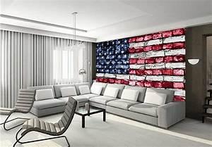Amerikanische Möbel Und Accessoires : fototapete stars and stripes mauer wall ~ Sanjose-hotels-ca.com Haus und Dekorationen