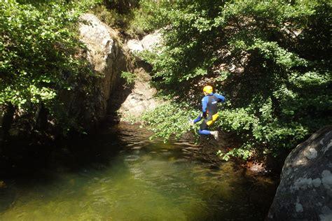 canyoning initiation au rec grand dans le caroux h 233 rault