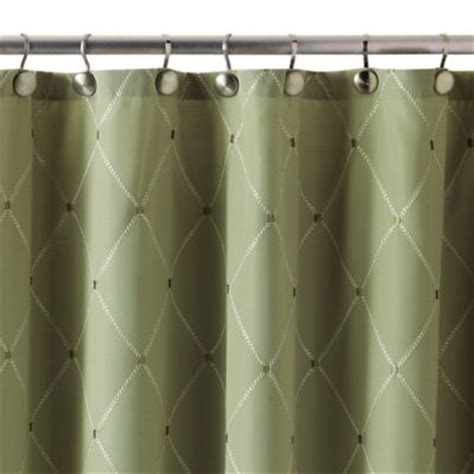 Green And Brown Shower Curtains by Buy Green Curtains From Bed Bath Beyond