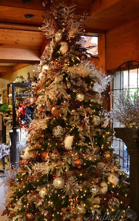 103 best christmas trees decor bronze copper chocolate