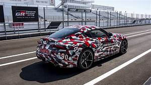 Proje U00e7 U00e3o Mostra  Enfim  O Novo Toyota Supra De Produ U00e7 U00e3o