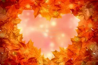 Autumn Leaves Fall Heart Abstract Fantasy Wallpapers