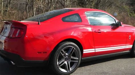 2010 Ford Mustang Shelby Gt500 Coupe For Sale