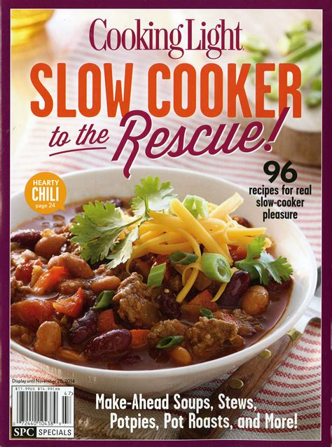 Cooking Light Cooker by September Brings Autumn And 44 New Titles To The Season