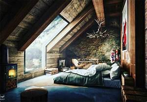 Schlafzimmer Dachschräge Gestalten : bild schlafzimmer inspiration dachschr ge bett ohne kopfteil lapazca ~ Eleganceandgraceweddings.com Haus und Dekorationen