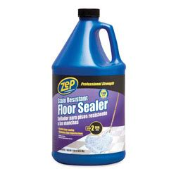 zep floor finish zep stain resistant floor sealer gallon zpezu2018128