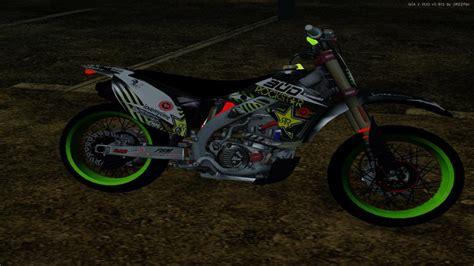 Kawasaki Kx Modification by Gta San Andreas Kawasaki Kx 125 Supermoto Mod Gtainside