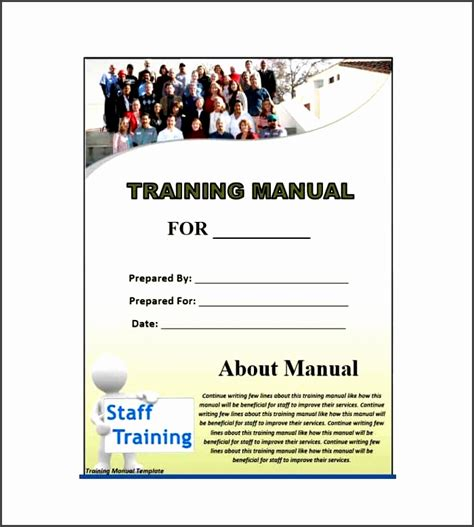 Training Guide Template Free by 5 Training Guide Template Word Free Sletemplatess