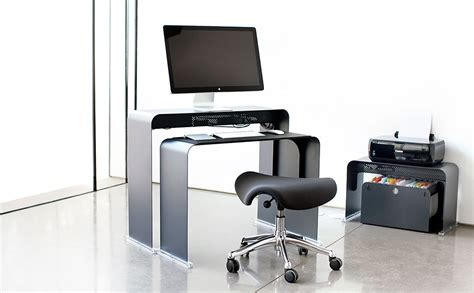bon fauteuil de bureau bureau pour ordinateur peu profond en métal onelessoffice