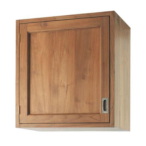 cuisine en teck meuble haut de cuisine ouverture droite en teck massif l
