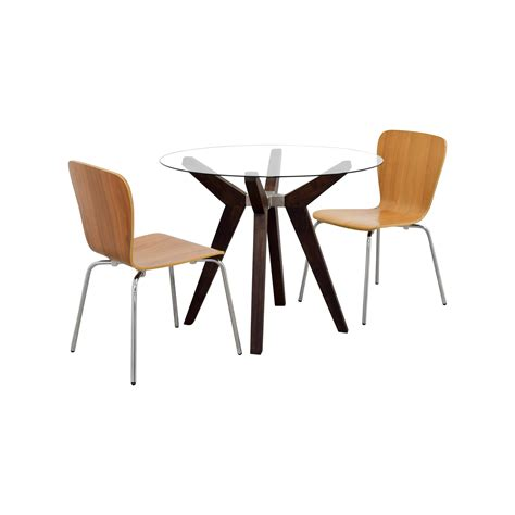 crate and barrel round dining table 74 off crate barrel crate barrel strut round dining