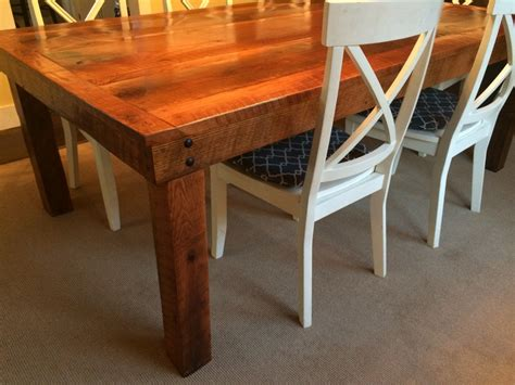 barn wood table   superhandyman