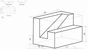 Csvtu Engg Graphics B E 2nd Sem Isometric Projection