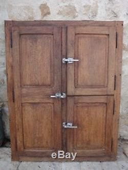 fa 231 ade avec 3 portes chambre froide glaci 232 re boucher ancienne meuble de m 233 tier