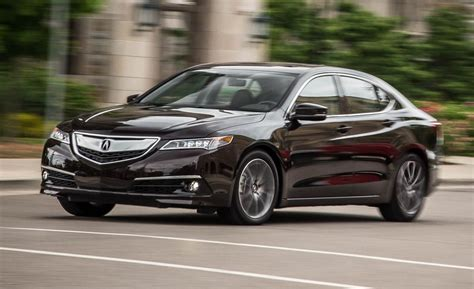 Eagle Acura Reviews by 2015 Acura Tlx V 6 Sh Awd Test Review Car And Driver