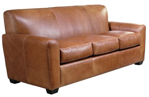 distressed leather sofas for omnia leather jackson leather sleeper sofa reviews wayfair 8745